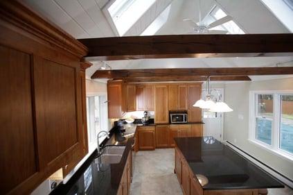wood beam ceiling new hampshire
