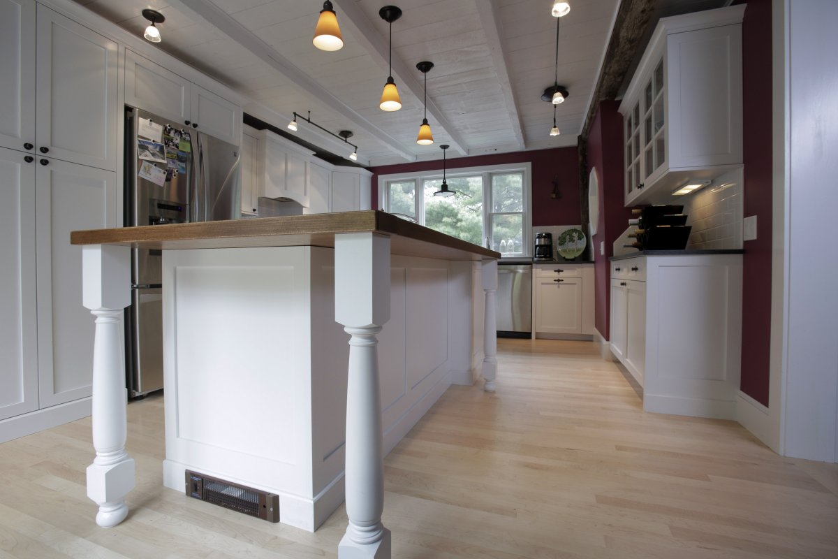 Kitchen remodeling in NH, ME, MA.