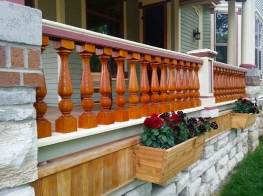 custom exterior trim and millwork
