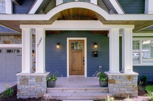 custom exterior millwork and trim